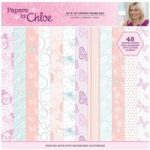 Papers by Chloe 12in x 12in Luxury Paper Pad | 48 Sheets
