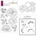 Altenew Beautiful Peony Stamp Die & Stencil Bundle