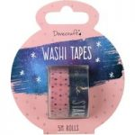 Dovecraft Planner Accessory Time To Shine Everyday Washi Tapes 5m | Pack of 2