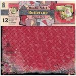Hot Off The Press 12in x 12in Paper Pack Buttercup | 12 Sheets