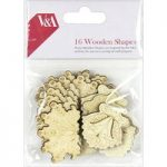 V&A Wooden Shapes | Set of 16