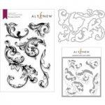 Altenew Baroque Motifs Stamp Die & Stencil Bundle