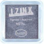 Aladine Izink Pigment Inkpad Metallic Silver Blue