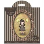 Santoro Gorjuss 6in x 6in Paper Pack 16 Foiled Sheets | A Gorjuss Party