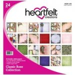 Heartfelt Creations 12in x 12in Paper Pad Double Sided Classic Rose | 24 Sheets