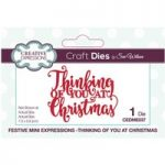 Sue Wilson Die Set Thinking Of You At Christmas | Festive Mini Expressions