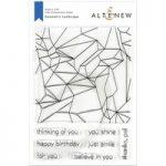 Altenew Stamp Set Geometric Landscape | Set of 8