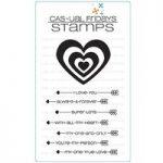 CAS-ual Fridays Cupids Arrow Stamp Set