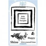 Paper Discovery Stamp Set Square Brush Stroke | Set of 9