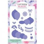 Card Making Magic Die Set Christmas Ornaments Set of 22 by Christina Griffiths