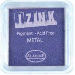 Aladine Izink Pigment Inkpad Metallic Purple