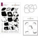 Altenew Basic Blooms Stamp Die & Mask Bundle
