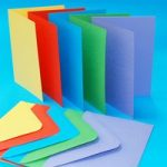 Craft UK C6 Card Blanks & Envelopes Assorted Bright | 50 pack