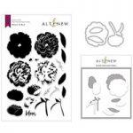 Altenew Bloom & Bud Stamp Mask & Die Bundle