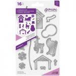 Gemini Elements Die Set Traditional Christmas | Set of 16