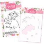 Apple Blossom Orchid Stamp & Stencil Bundle