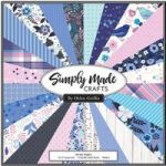 Simply Made Crafts Winter Nights 12in x 12in Paper Pad | 24 Sheets