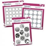 Creative Die, Stamp, & Stencil Set Octagon | Geometric Shapes Collection