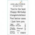 CAS-ual Fridays Heartfelt Sayings Stamp Set