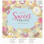 Papermania 12in x 12in Paper Pad 50 Sheets | Sweet Treats