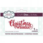 Sue Wilson Die Set Christmas Wishes | Festive Mini Expressions