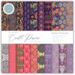 Craft Consortium The Essential Craft Papers 6in x 6in Eastern Influences | 40 Sheets