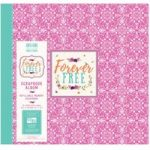 First Edition Scrapbook Album Forever Free Mandala 12in x 12in | 20 refillable pages