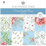 The Paper Tree 12in x 12in Paper Pad 160gsm 40 Sheets | A Countryside Story