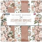 Paper Boutique 12in x 12in Paper Pad 160gsm 36 Sheets | Steampunk Romance