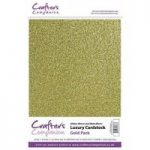 Crafter's Companion Luxury Cardstock Pack – Gold
