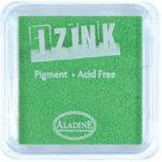 Aladine Izink Pigment Inkpad Fluorescent Green