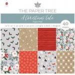 The Paper Tree 12in x 12in Paper Pad 160gsm 40 Sheets | A Christmas Tale