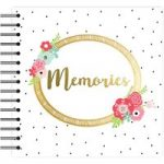 Simply Creative Scrapbook Album Memories 8in x 8in | 40 Pages