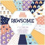 Paper Addicts Paper Pad Pawsome Prints 6in x 6in | 30 Sheets