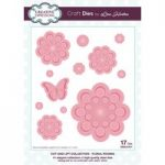 Creative Expressions Lisa Horton Cut and Lift Collection – Floral Rounds Craft Die