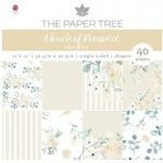 The Paper Tree 12in x 12in Paper Pad 160gsm 40 Sheets | A Touch of Romance