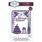 Sue Wilson Frames and Tags Collection Wedded Bliss Die