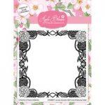 Apple Blossom 6in x 6in Embossing Folder Seasonal Flowers Winter Carnation