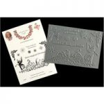 Scarlett Rose Crafts A6 Stamp Set Fanciful Fairies Christmas Nicolina | Set of 14