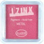 Aladine Izink Pigment Inkpad Metallic Pink