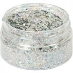Cosmic Shimmer Holographic Glitterbitz Silver Gems