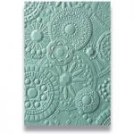 Sizzix 3D Textured Impressions Embossing Folder Mosaic Gems by Courtney Chilson