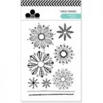 Craftwork Cards A6 Stamp Set Crazy Daisies Stamps | Set of 9