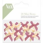 V&A Mini Bows | Pack of 20