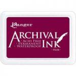 Ranger Archival Ink #0 Pad | Plum
