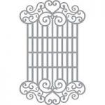 Spellbinders Die Swirl Lattice Panel | Blooming Gardens