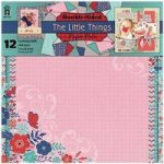 Hot Off The Press 12in x 12in Paper Pack The Little Things | 12 Sheets
