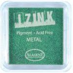 Aladine Izink Pigment Inkpad Metallic Light Green