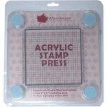 Woodware Acrylic Stamp Press 12cm x 12cm Grid Stamp