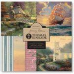 Joanna Sheen Thomas Kinkade 8in x 8in Cardmaking Collection Pad – Volume 5
